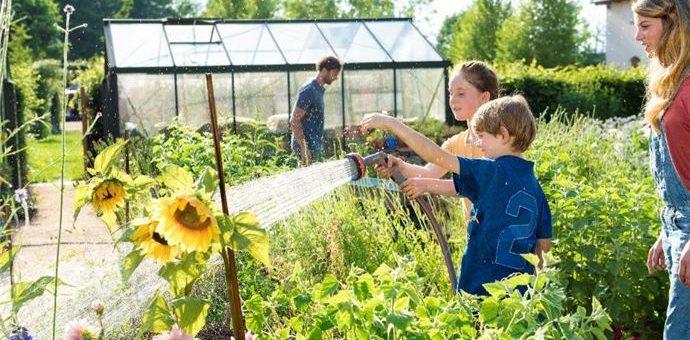 Grădini prietenoase pentru copii
